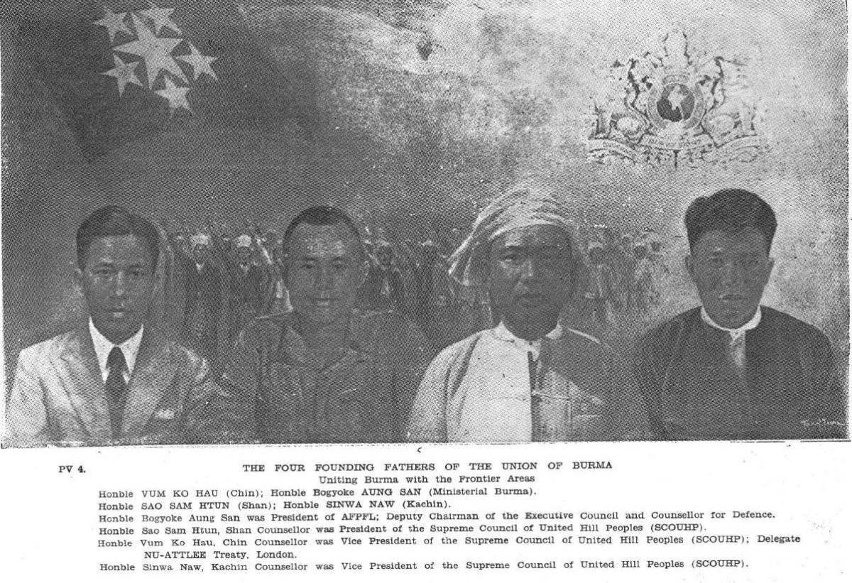 The Founding Fathers of the Union of Burma (Myanmar)