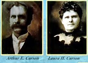 Carson and wife