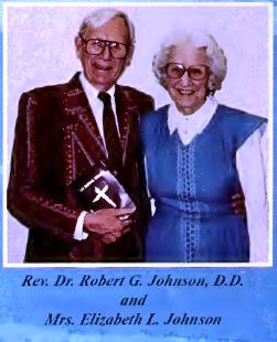 Dr. Johnson and wife