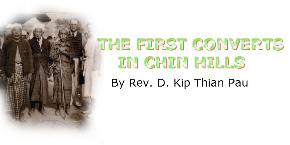 First convert
