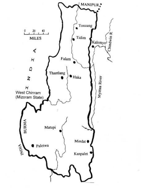 Chin Map