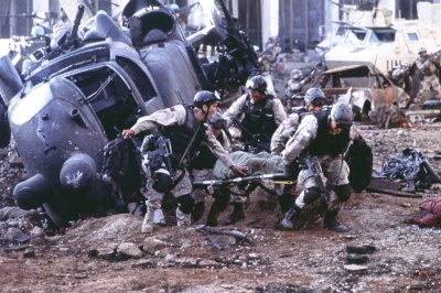 Black hawk down, Somalia