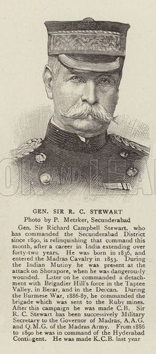 General Sir R C Stewart